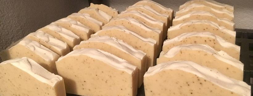 Handmade Eucalyptus Goats Milk Soap